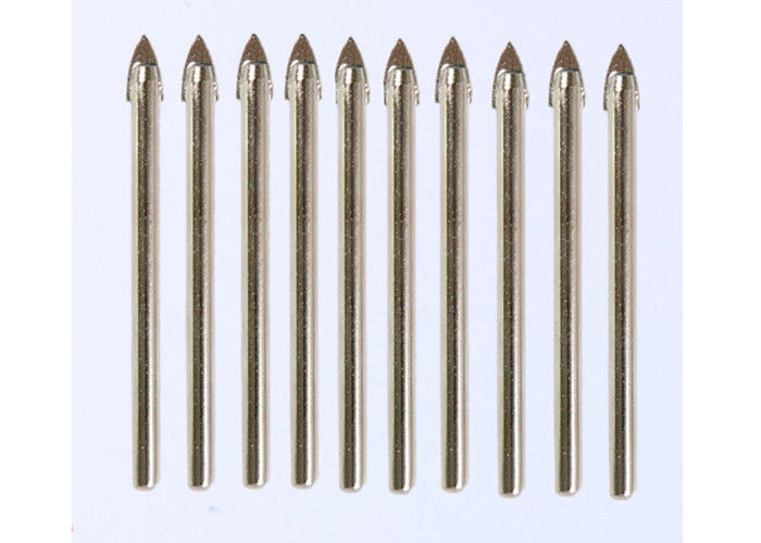 12mm Diameter Carbide Drill Bits Spear Tip 7mm Shank For Non - Ferrous Metal